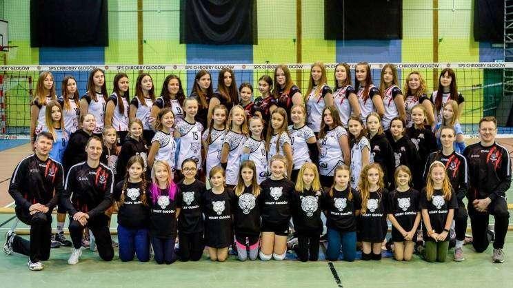 2021-02-02 drużyna Volley Głogów (fot. Volley Głogów)