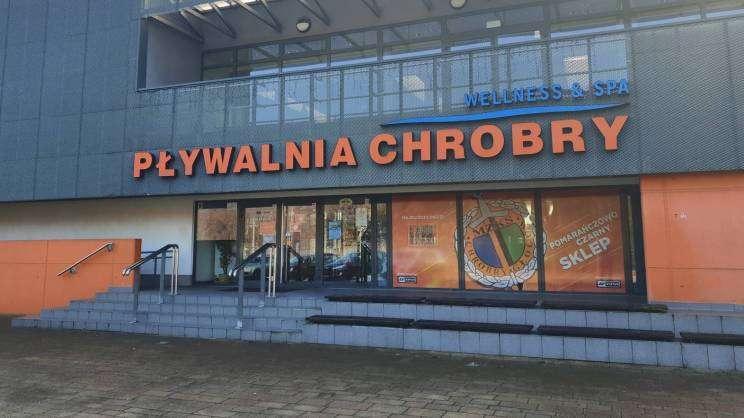 2021-02-22 Pływalnia Chrobry Głogów (fot. M. Kaczmarek)