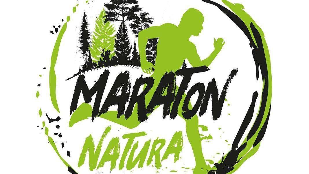 Maraton Na zdjęciu plakat maratonu Natura 2021-21.03.2021