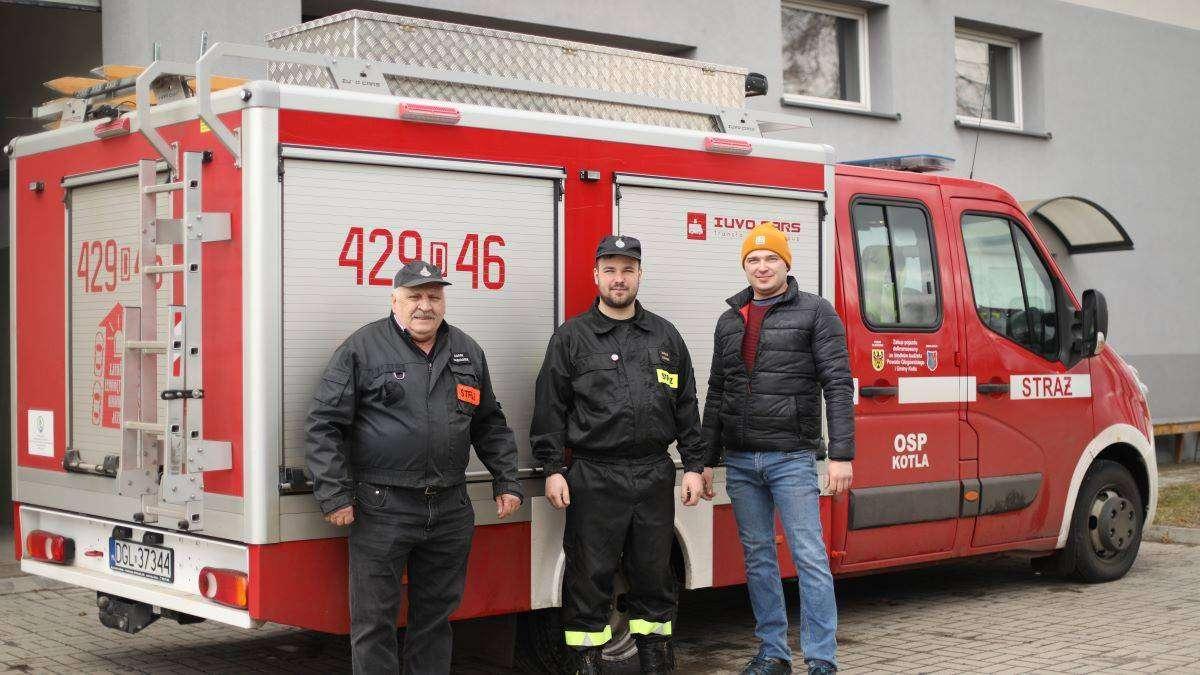 drużyna OSP w Kotli, M. Komperda