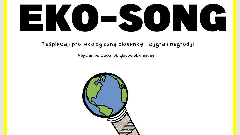 2021-03-30 konkurs EKO-SONG (plakat - Klub Mayday) zdjęcie wyróżniające