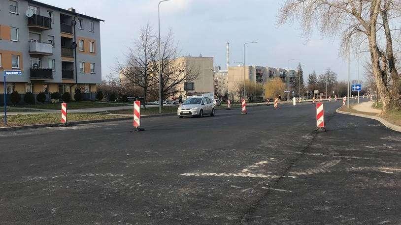 25.03.2021 ul. Kaziemierza Sprawiedliwego w Głogowie remont