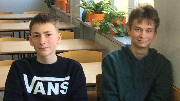 Uczniowie Szkoły podstawowej nr 3 w Głogowie