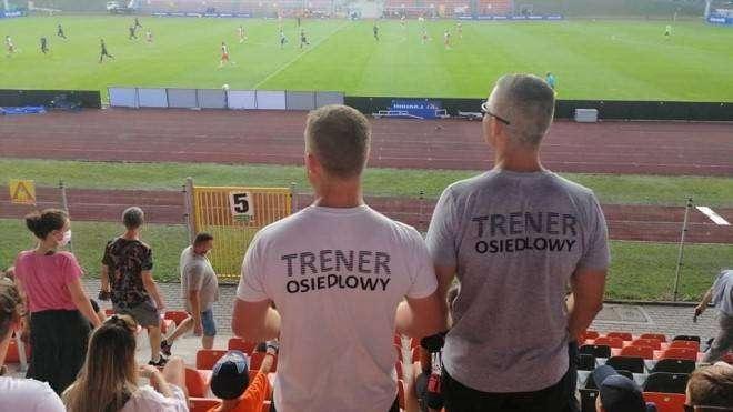 trener osiedlowy Chrobry Głogów 10.03.2021