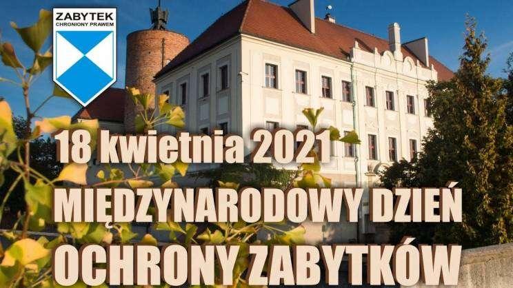 18 kwietnia międzynarodowy dzień ochrony zabytków muzeum w Głogowie-plakat zajawka