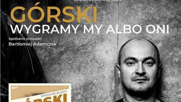 2021-04-15 plakat spotkanie z redaktorem Mirosławem Wlekłym (GEK)