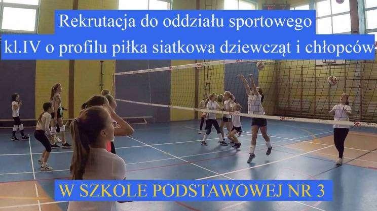 Szkoła Podstawowa nr 3 w Głogowie - grafika rekrutacyjna