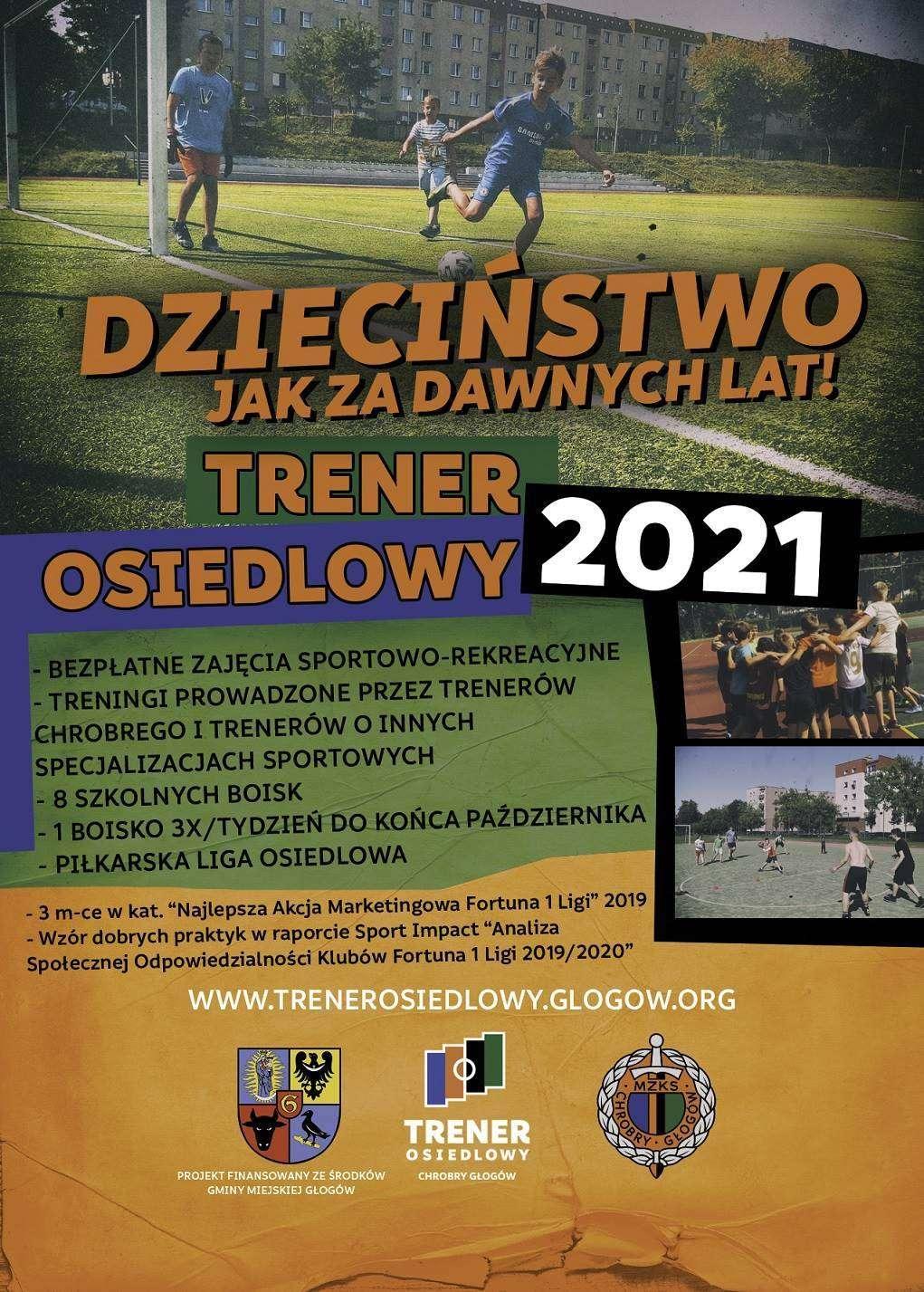 Trener Osiedlowy ulotka