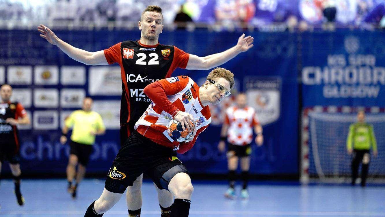 KS SPR Chrobry Głogów S.A. zdjęcie z meczu piłki ręcznej