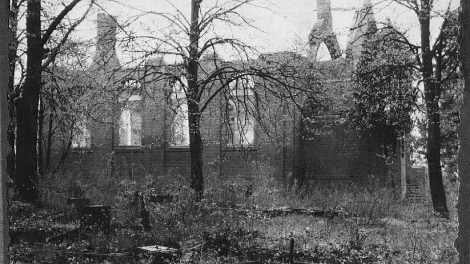 park pd ruiny kaplicy cm ewangelickiego od i.dominiak