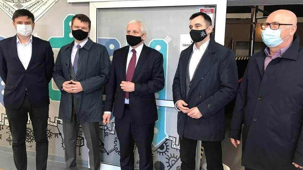 6.05.2021 punkt szczepień powszechnych w Głogowie