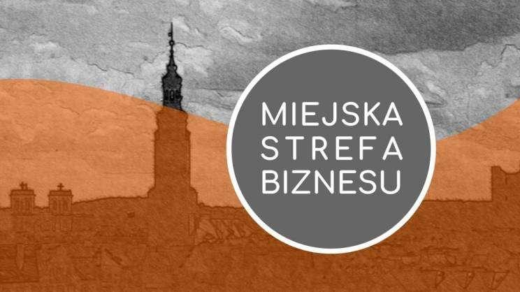 Logo Miejskiej Strefy Biznesu w Głogowie