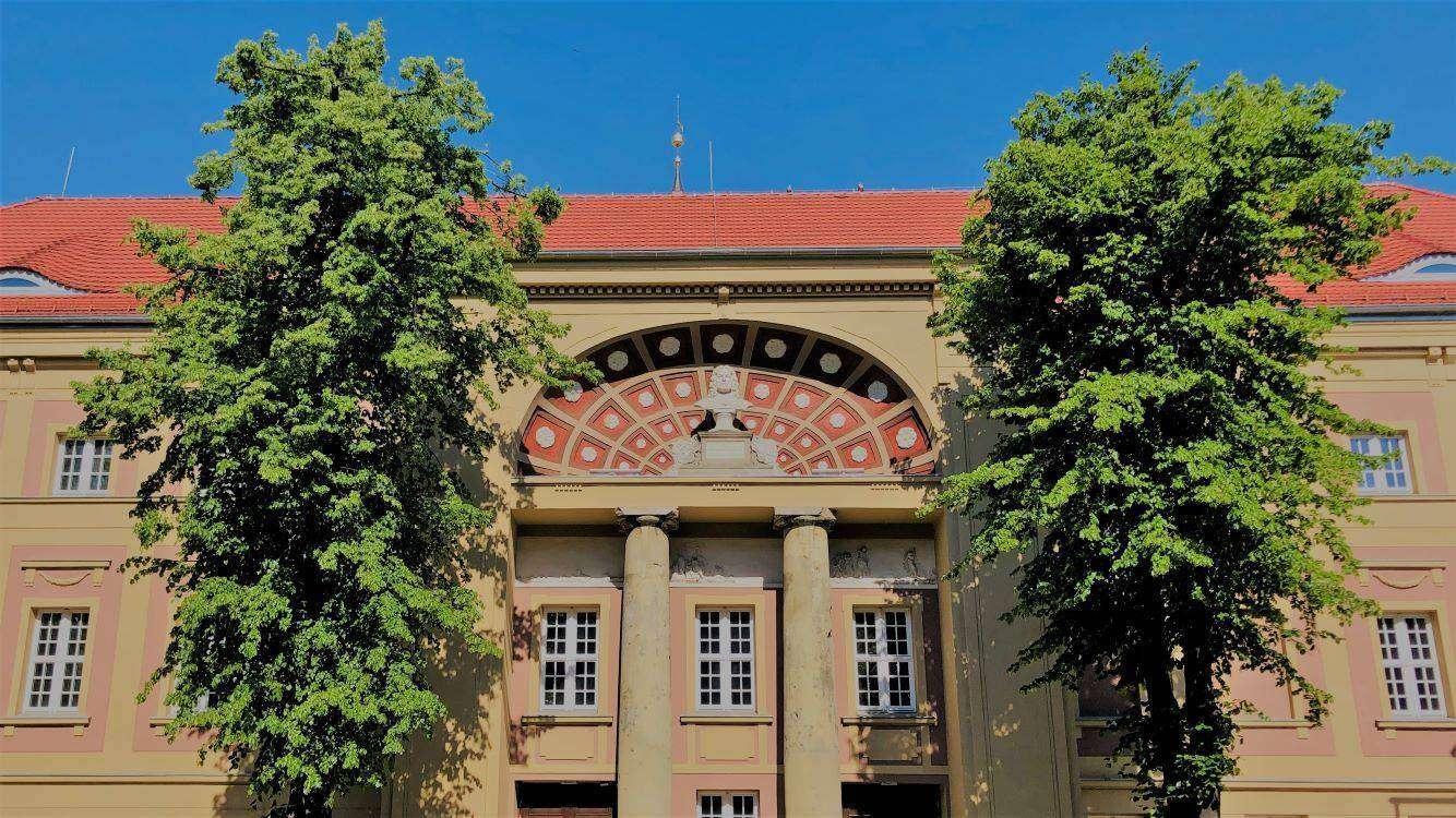 Budynek teatru im. Andreasa Gryphiusa w Głogowie