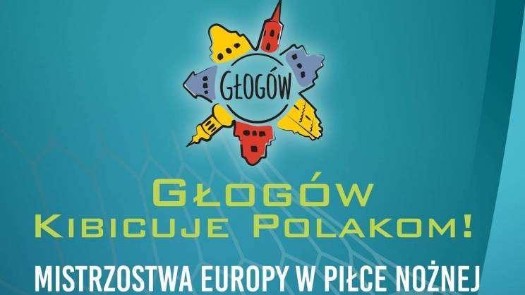 grafika głogowskiej strefy kibica Euro 2020