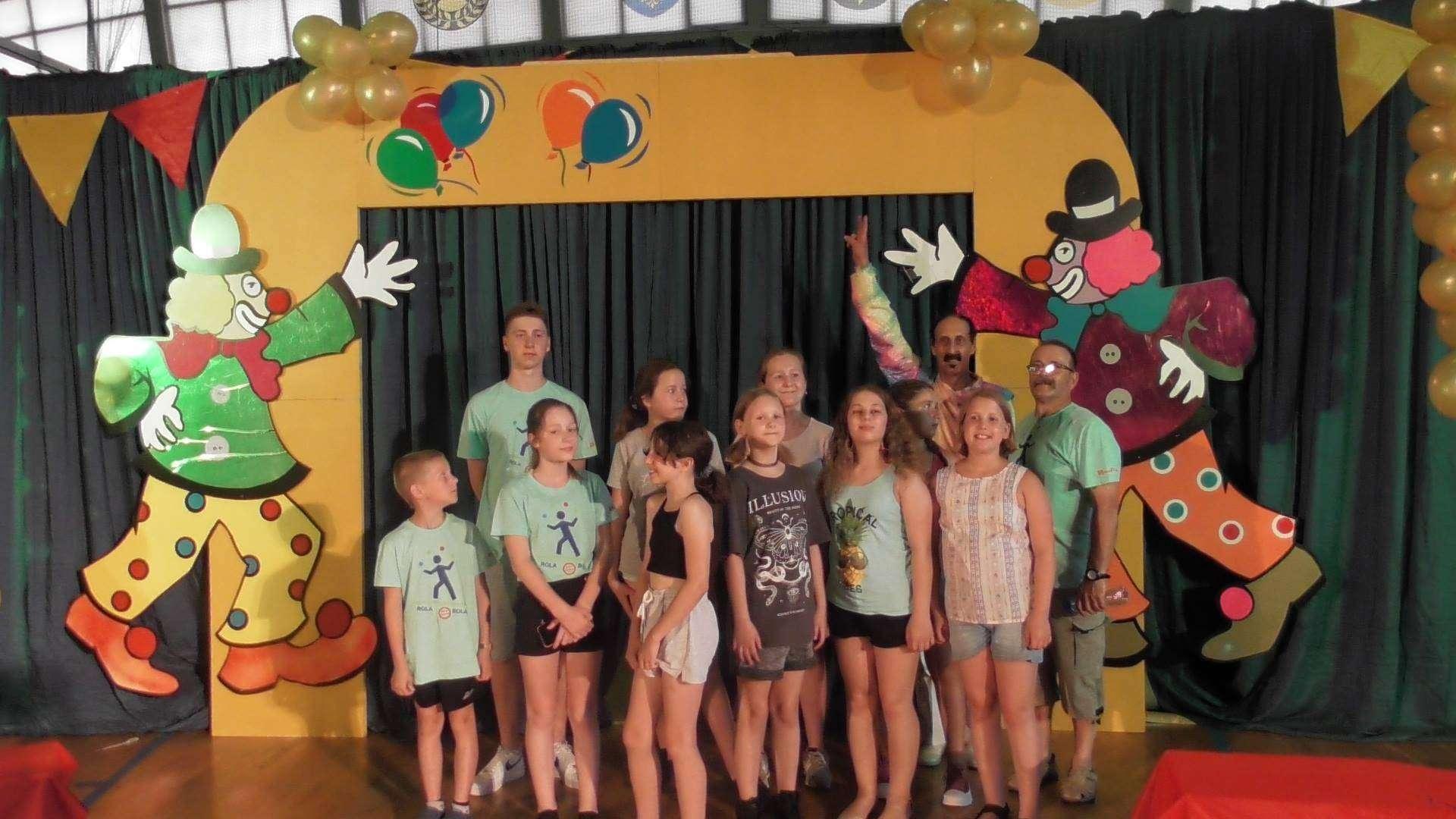 Głogowska grupa akrobatyczna Rola-bola-na-festiwalu Sztuki Cyrkowej