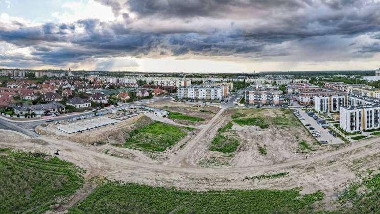 Widok na os. Nowy Piastów w Głogowie, Studio Siwek
