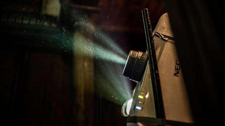 na zdjęciu widnieje projektor
