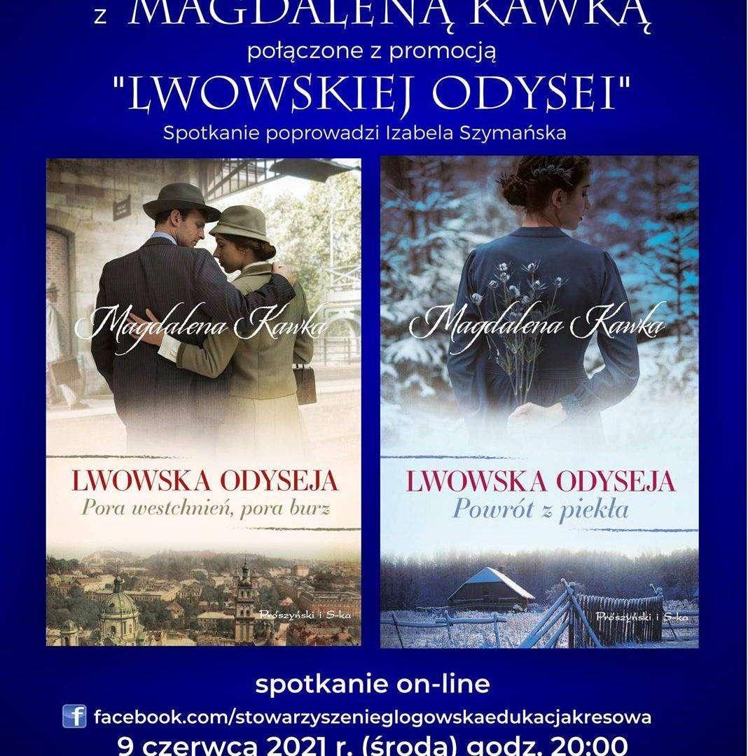 Lwowska Odyseja Magdaleny Kawki plakat