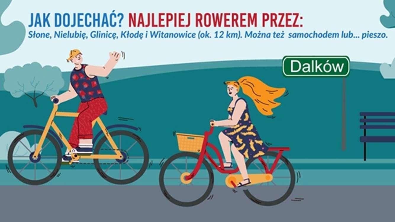 piknik rowerowy w Dalkowie grafika