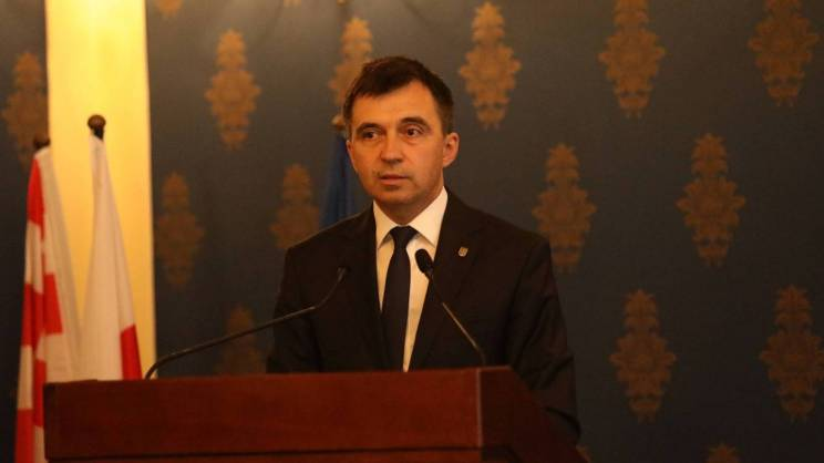 prezydent Głogowa na sesji Rady Miejskiej
