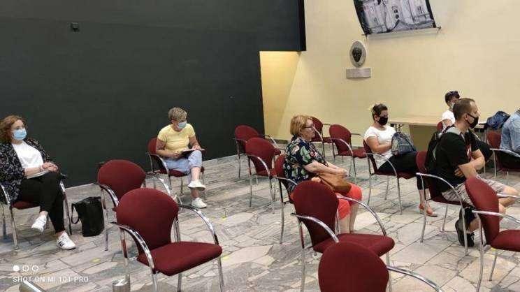 spotkanie informacyjne w sprawie wymiany pieców. zamek głogowski w Głogowie.11.06.2021r zajawka