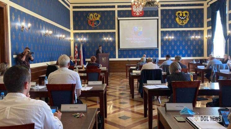 27.07.2021 sesja Rady Miejskiej w Głogowie, MDG