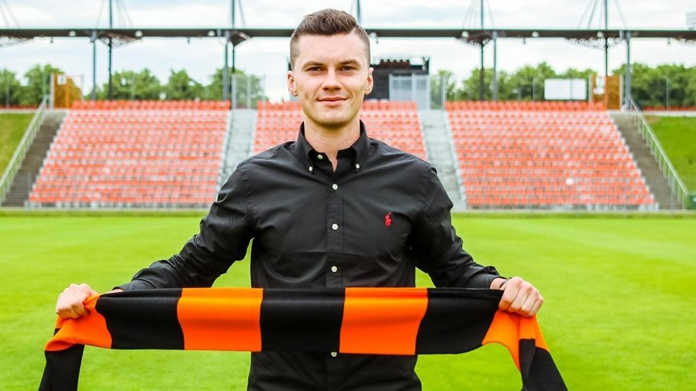 Mateusz Bochnak piłkarz Chrobrego Głogów