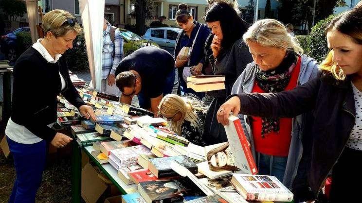 Kiermasz książki przeczytanej w Głogowie