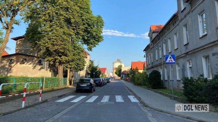 ulica Akacjowa w Głogowie