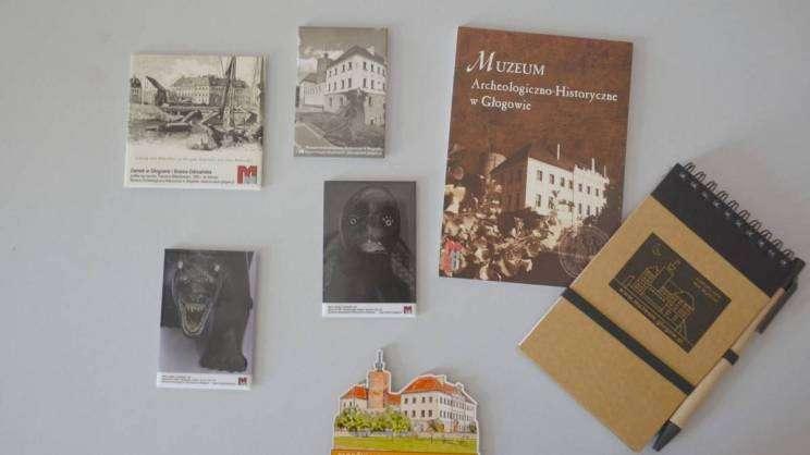 gadżety Muzeum Archeologiczno-Historycznego w Głogowie-17.08.2021
