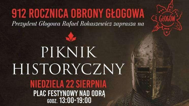 Piknik historyczny Głogów plakat