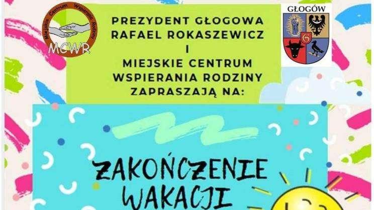 plakat MCWR Zakończenie Wakacji
