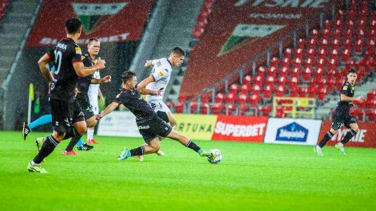 GKS Tychy Chrobry Głogów mecz w piłkę nożną