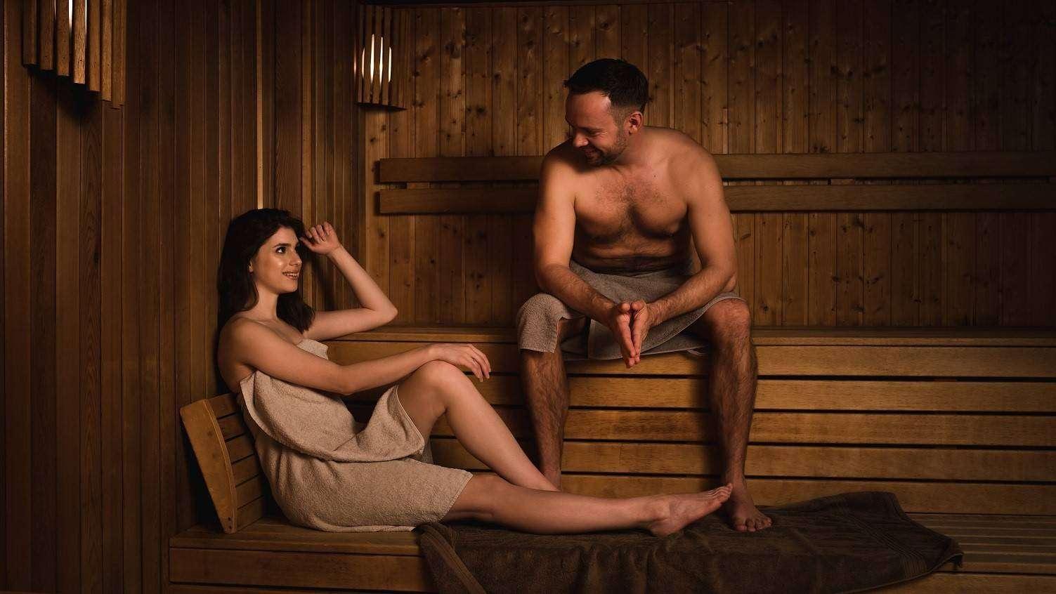 Chrobry Głogów sauna fińska (fot. Siwek Studio)