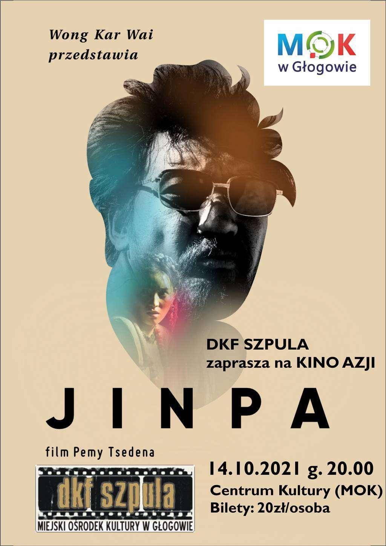 plakat promujący film pt. Jimpa w ramach klubu filmowego